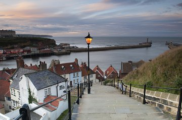 Whitby's 199 Steps, Harbour and Piers